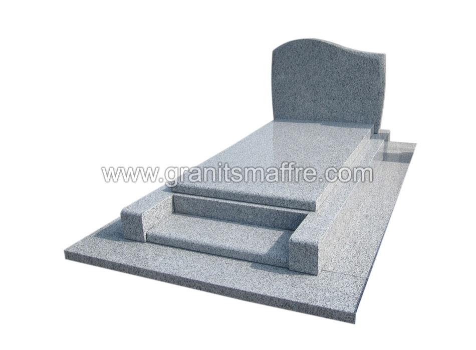 Pierre tombale en granite