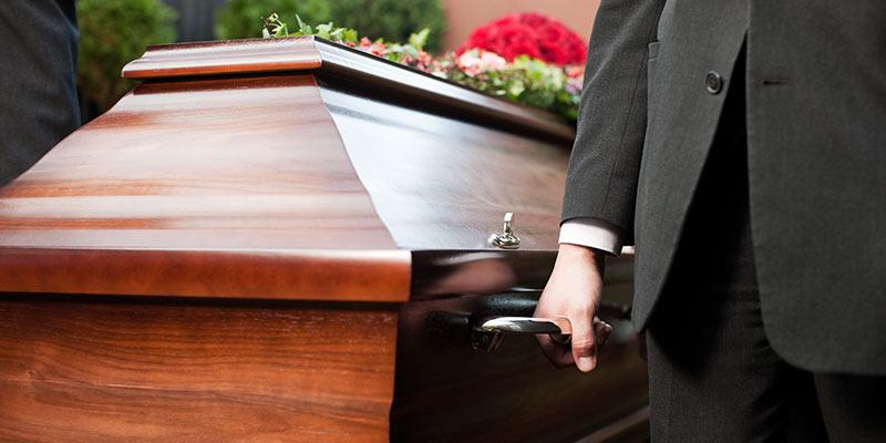 Fermeture cercueil